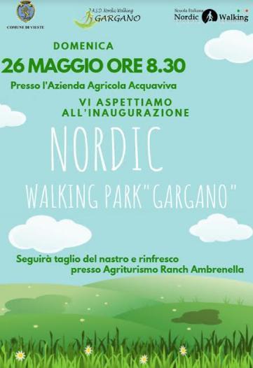 Inaugurazione del Nordic Walking Park