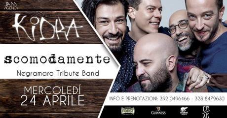 SCOMODAMENTE... Negramaro tribute band