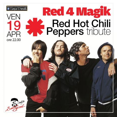 Red 4 Magik - Red Hot Chili Peppers tribute a Trani