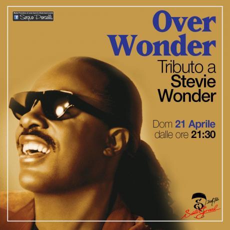 OverWonder - Tributo a Stevie Wonder a Trani