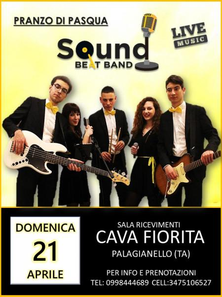 Pranzo di Pasqua Live by SOUND BEAT BAND