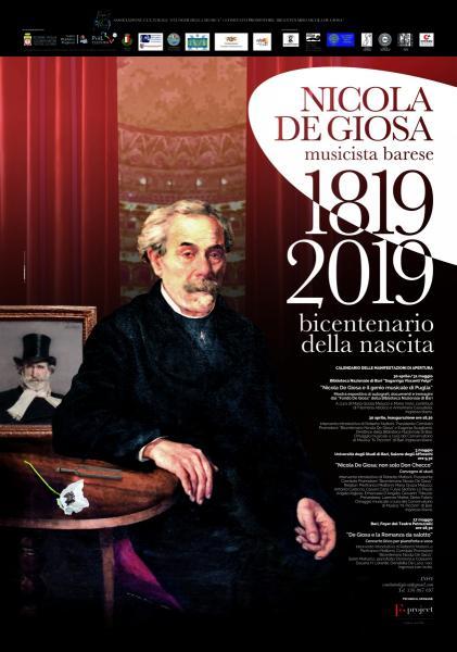 Bicentenario della nascita di Nicola De Giosa (1819 -2019). Nicola De Giosa e il Genio musicale di Puglia