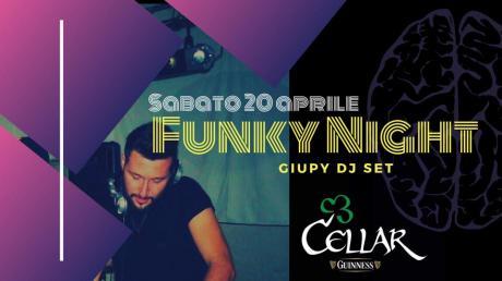DJSET //FUNKY NIGHT// GiuPORN @ Cellar