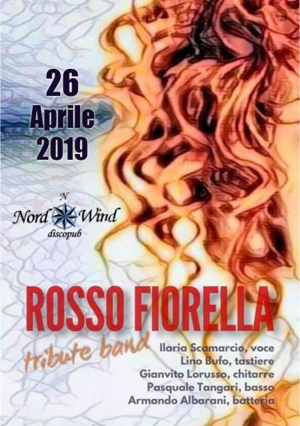 Rosso Fiorella - FIORELLA MANNOIA Tribute in concerto al Nordwind discopub di bari