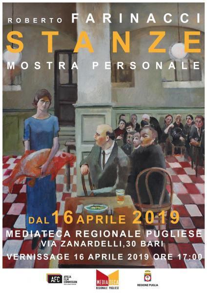 """""""Stanze"""" mostra personale di pittura di Roberto Farinacci"""