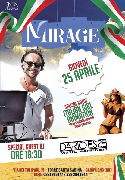 Dario Esse & Italian Girl Animation at Mirage (Santa Sabina)