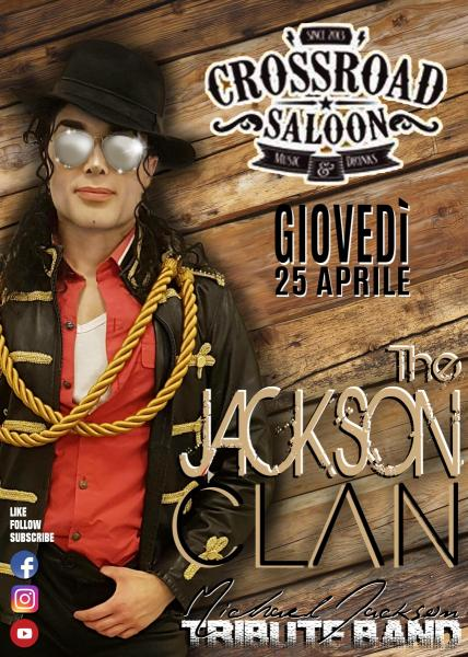 The Jackson Clan live @ CROSSROAD SALOON - BARI