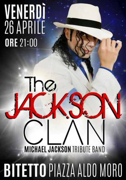 The Jackson Clan live in Piazza Aldo Moro - Bitetto (BA)