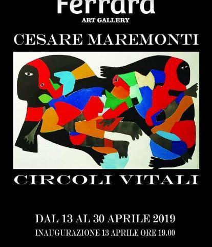 """Mostra """"Circoli Vitali"""" di Cesare Maremonti"""