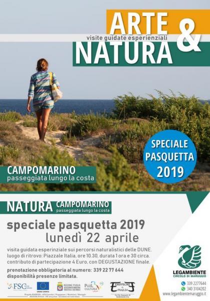 Arte & Natura - Pasquetta sui percorsi naturalistici delle dune di Campomarino