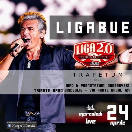 Liga 2.0 Ligabue tribute a Bisceglie