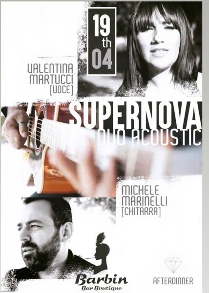 SuperNova Duo Acustico live @ Barbin sea & drink