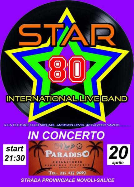 Star 80 live concert - Disco never dies