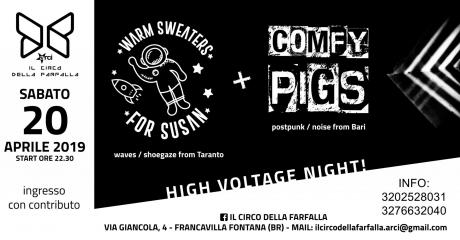 Comfy Pigs + Warm Sweaters for Susan in Concerto