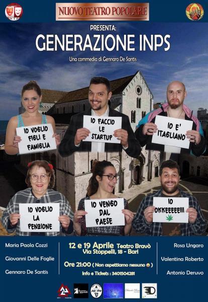 Generazione Inps - commedia comica
