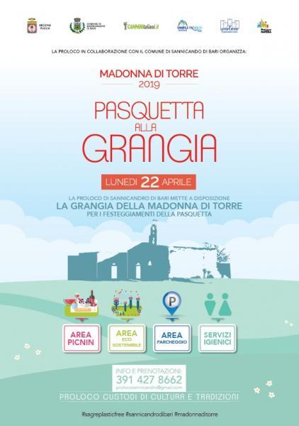 Madonna di Torre 2019 Pasquetta a Sannicandro di Bari