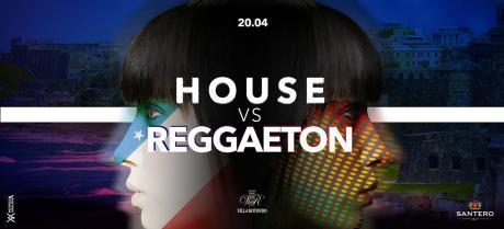 Sab 20 Aprile - Villa Rotondo presenta - House vs Reggaetton - Lista Bari