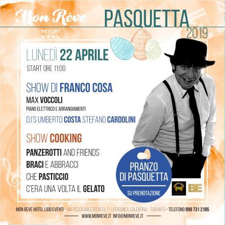 Pasquetta 2019 Mon Rêve live Music