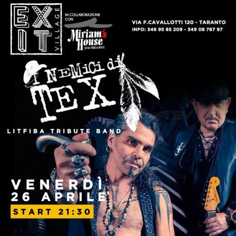 Litfiba- i nemici di Tex cover band