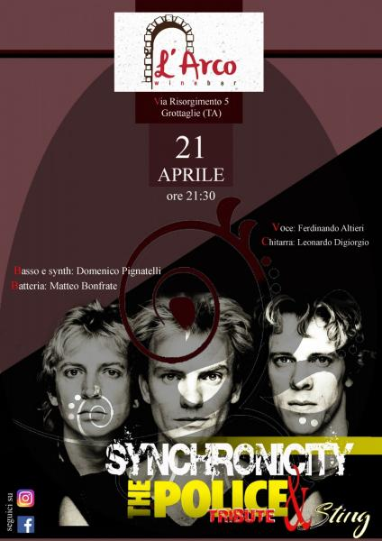 Synchronicity The Police & Sting tribute