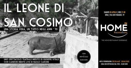 Il Leone di San Cosimo. Una storia vera. Un tuffo negli anni '70