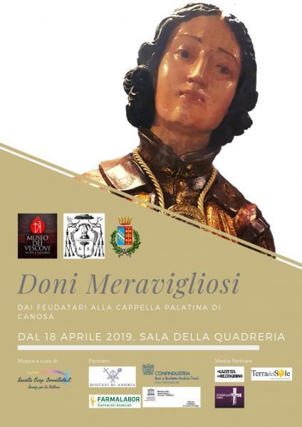 Doni Meravigliosi dai feudatari alla Reale Basilica Palatina di Canosa