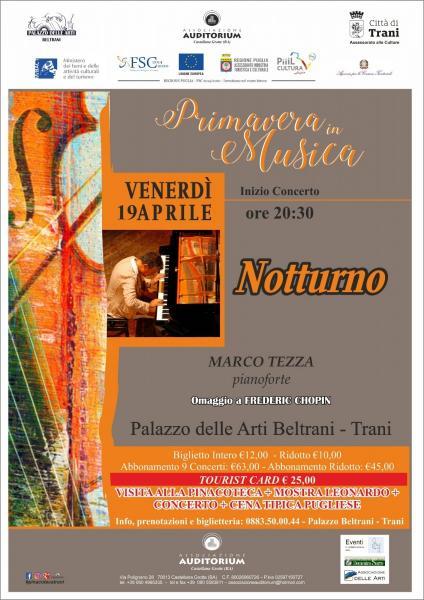 Primavera in Musica 2019 - Marco Tezza