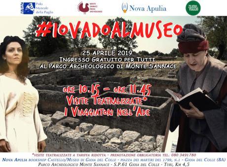 #IOVADOALMUSEO #gratis #25APRILE Parco Archeologico di Monte Sannace - Gioia del Colle (BA)