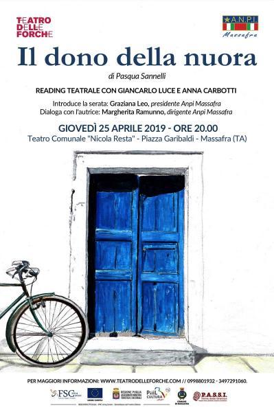 """""""Il dono della nuora"""" - Reading teatrale"""