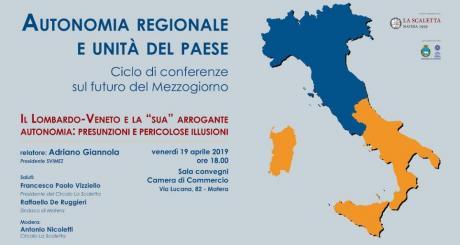Autonomia regionale e unità del Paese