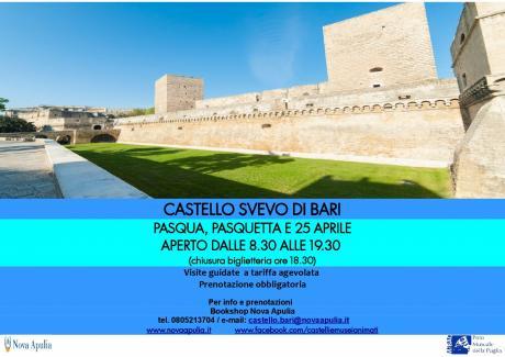 Pasqua, Pasquetta e 25 Aprile al Castello