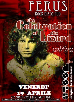 """The DOORS Live Tribute con i """"CELEBRATION of the LIZARD"""""""