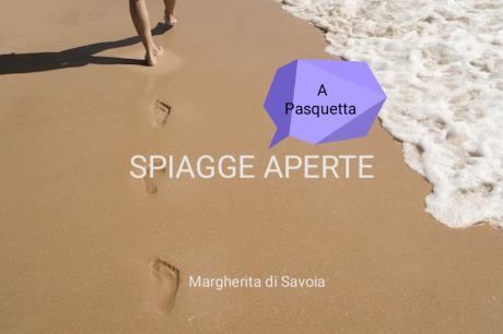 Spiagge aperte a Pasquetta