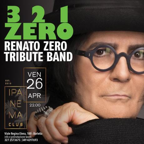 3 2 1 Zero Renato Zero Tribute Band a Barletta