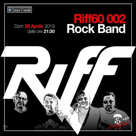 Riff60 Rock Band a Trani