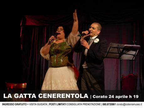 Per GustoJazz, a Corato teatro-musica con La Gatta Cenerentola a cura di Gianluigi Belsito