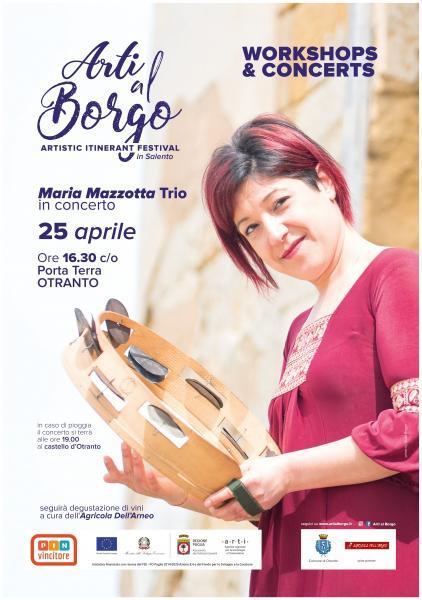 Arti al Borgo con Maria Mazzotta Trio