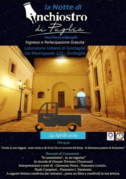 La Notte di Inchiostro di Puglia
