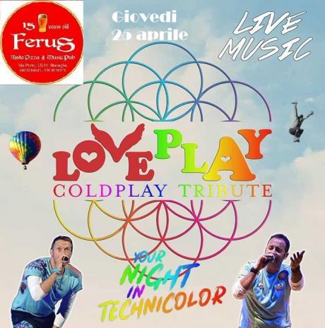 LoVePlaY - Coldplay Tribute - Ferus Disco Pub - Bisceglie
