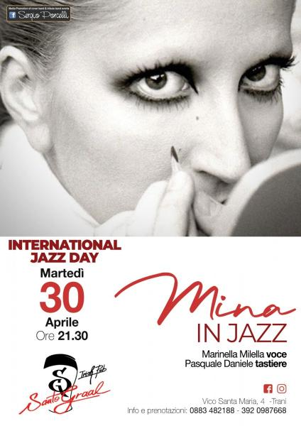 International jazz day - Mina in jazz a Trani