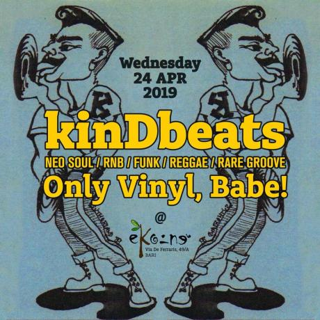 kinDbeats only vinyl