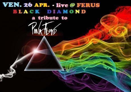 "PINK FLOYD special tribute live con i ""BLACK DIAMOND"""