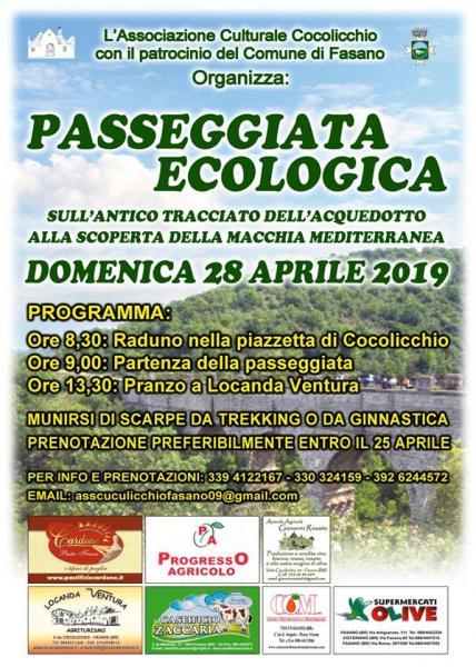 Passeggiata Ecologica - alla scoperta della macchia mediterranea