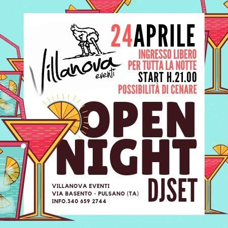 Open Night Dj Set - ingresso libero