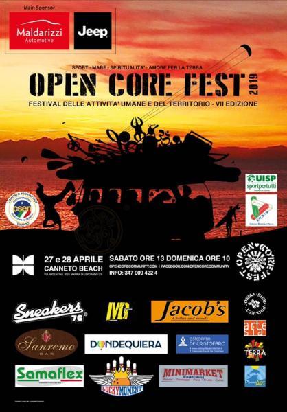 Open Core Fest 2019 - Festival delle attività umane e del territorio, VII edizione