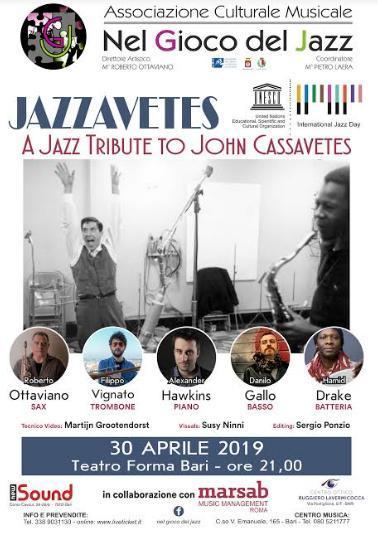 """Jazzavetes"" concerto dedicato a John Cassavetes"