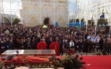 Arrivano le spoglie  di Santa Lucia e Sant'Irene ad Erchie