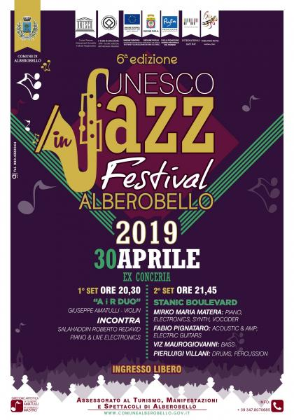 UNESCO in Jazz Festival 2019