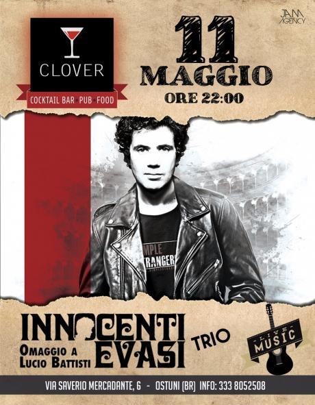 Innocenti Evasi (Battisti Cover) at Clover #eatdrinkenjoy