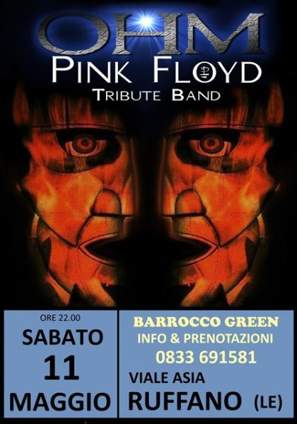 OHM PINK FLOYD LIVE - RUFFANO - BARROCCO - piazzale antistante